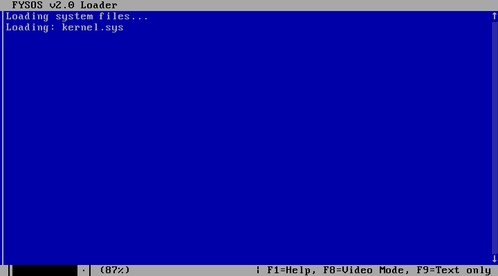 FYSOS Loader screenshot 0
