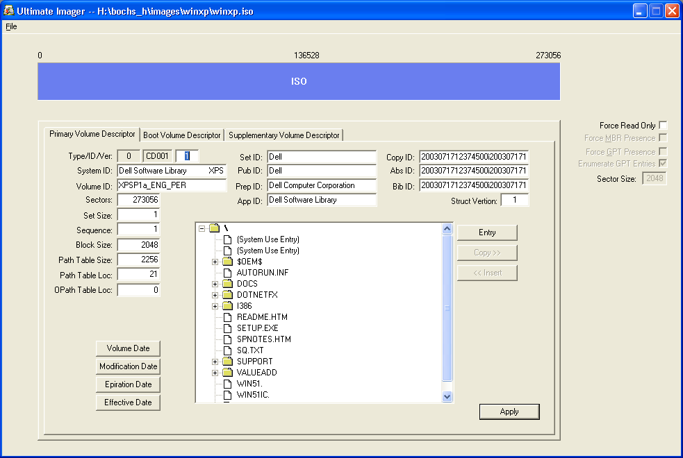 Ultimate: ISO9660 File System